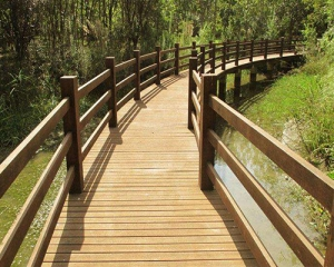 贵州防腐木桥梁