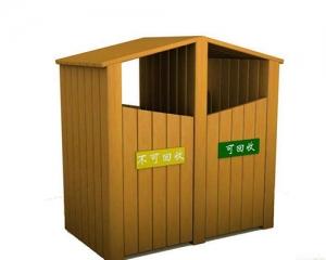 毕节防腐木垃圾箱
